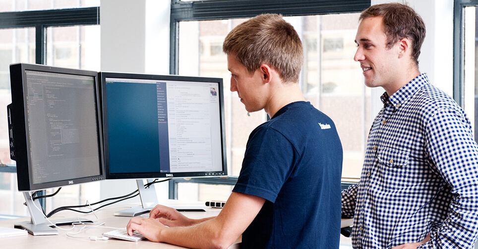 Atlassian support team at work