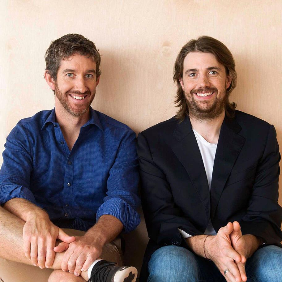 創立者及び CEO の Mike Cannon-Brookes と Scott Farquhar