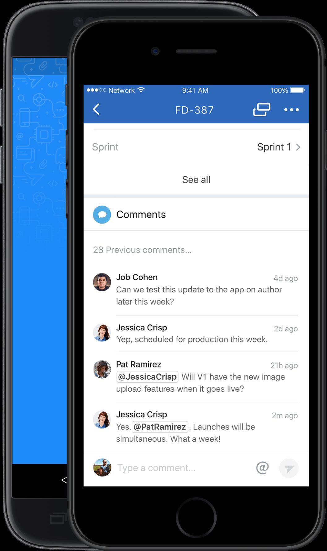 JIRA Software für iOS – Vorgang erstellen