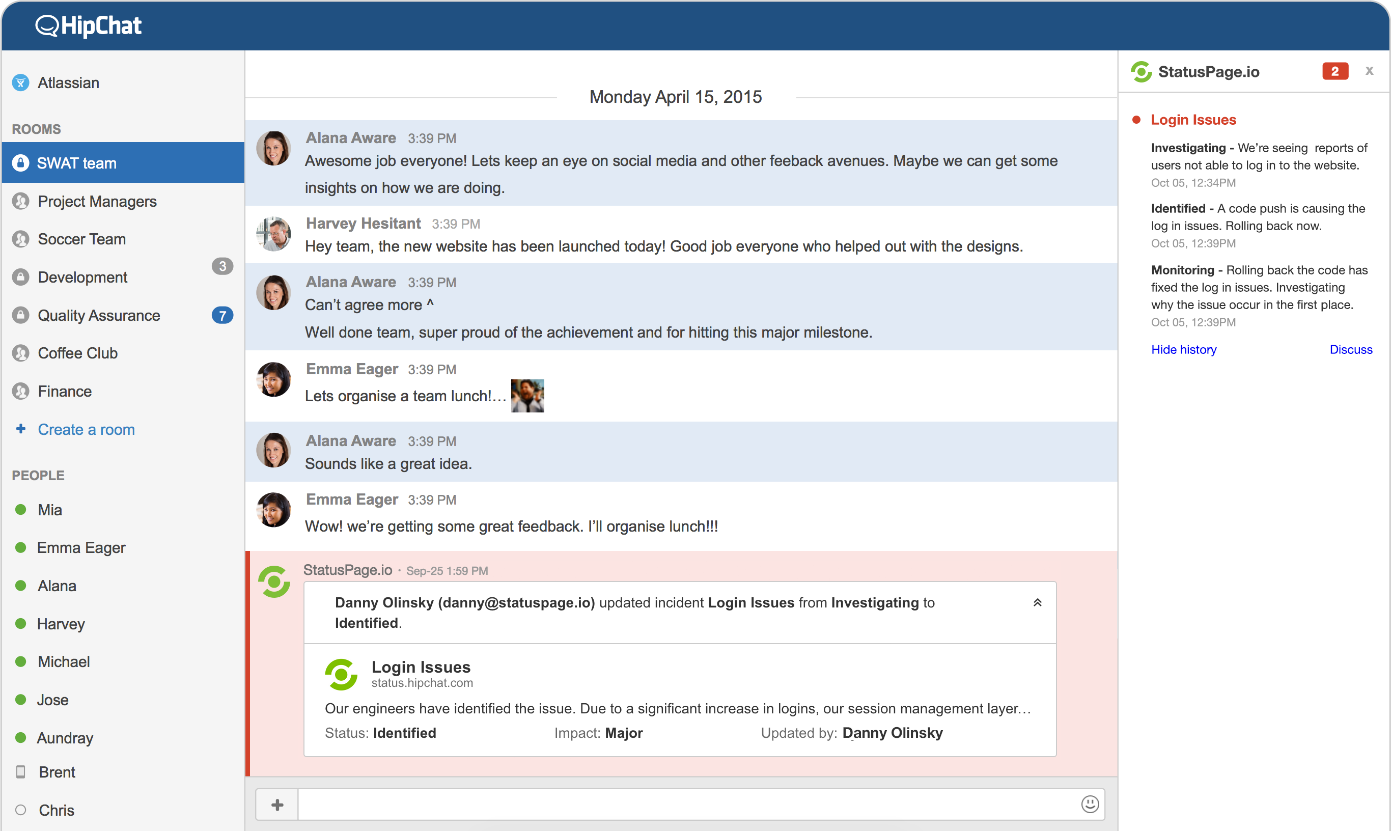 Confluence Outage Report Template 28 Images Statuspage Atlassian
